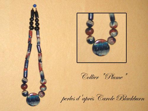 Perles plume d'après Carole Blackburn Perles-plume-collier